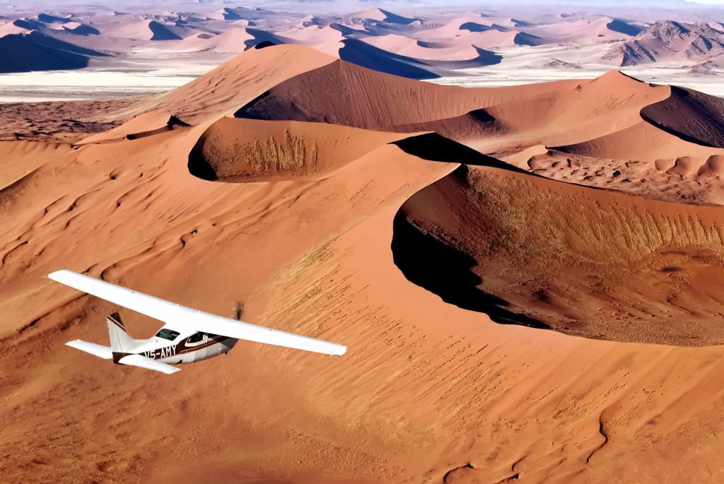 fly safari namibia