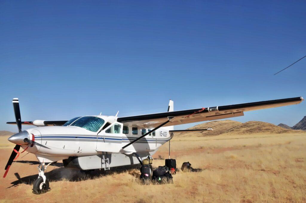 Flug Safari AFrika