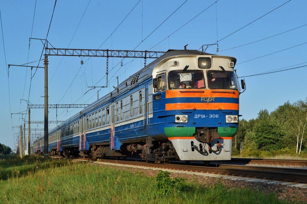Trans Sib Train